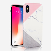 Marble Pattern Slim-Fit Ultra-Thin Anti-Scratch Shock Proof Non-Slip Anti-Finger Print PC Hard Case For iPhone X