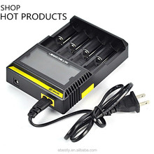 Nitecore Authorized Distributor authentic 12v car battery charger for 18650/18530 3.7v Nitecore D4 intelligent I2/I4/D2/D4