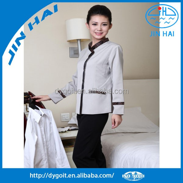 Cleaning service uniform for women