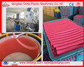 colorful Shisha hookah flexible spiral pipe hoses extrusion line PVC spiral soft flexible hose pipe production machine