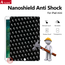 New Products Nanoshield Hammer Anti Explosion Screen Protector Film For iPad Mini Mobile Phones