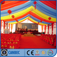 event wedding tent with decoration