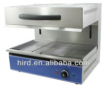Adjustable kitchen electric salamander with kitchen equipment