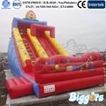 Super Clown Commercial Big Inflatable Dry Slide for Sale