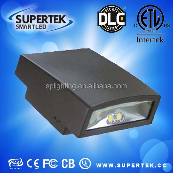 Adjustable led Wall Pack lights With Photocell IP65 DLC &UL listed