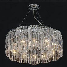 Modern simple style lead crystal chandelier pendant light