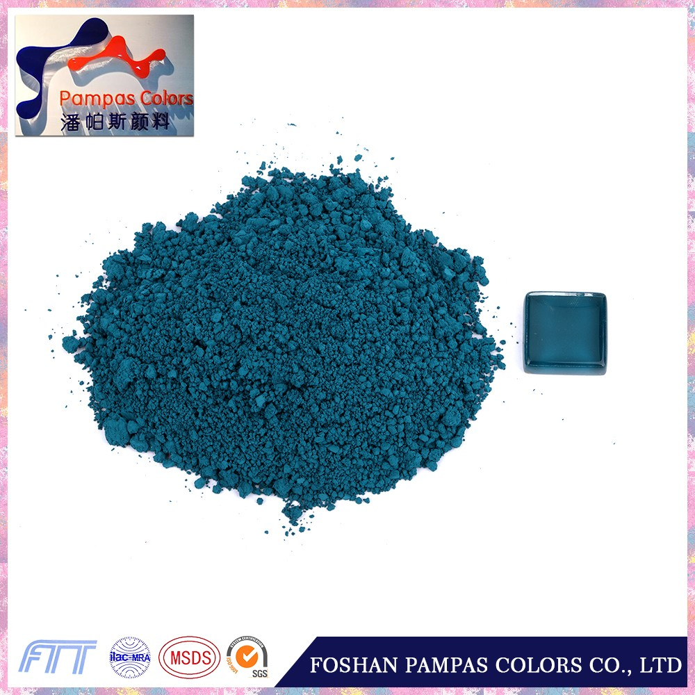 Factory supplier stain turquoise blue color for ceramic tile