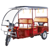 China passenger electric auto rickshaw tuk tuk supplier
