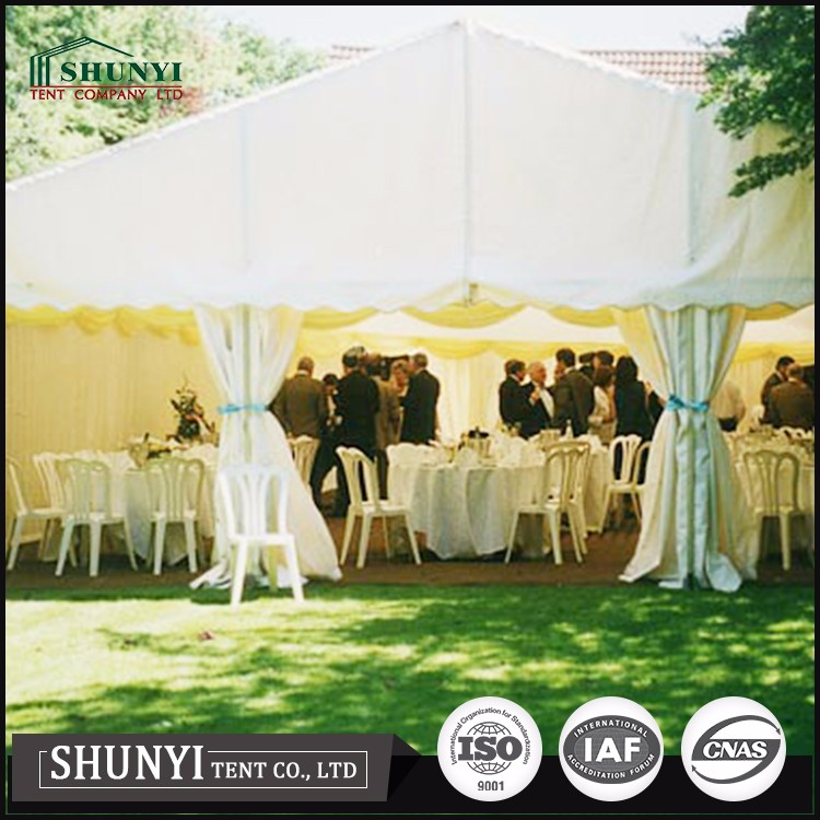 big white wedding party tent garden canopy, christmas large cheap party event tent for sale
