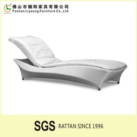 aluminium hartman sun lounger luxury recliner chaise lounge Outdoor furniture swimming pool white plastic rattan sun lounge