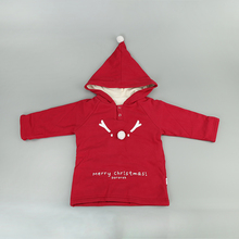 Factory good price winter long sleeves fancy red christmas baby clothes