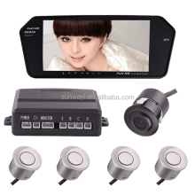 Best Full HD 1080P 7 inch rear view mirror display reverse video Parking Sensor