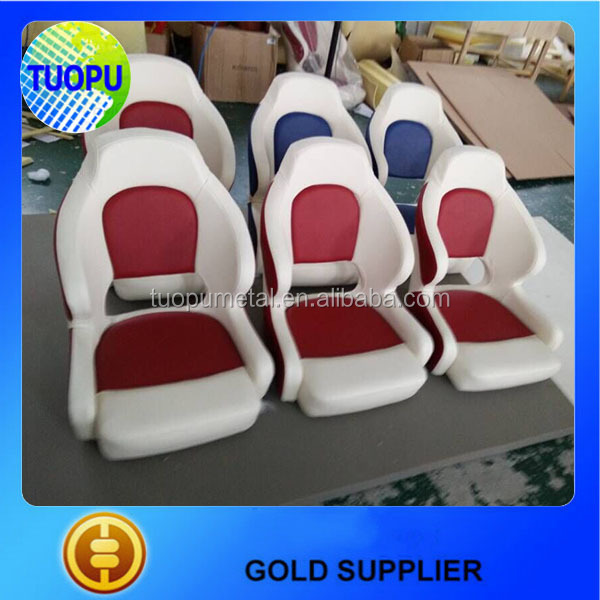 China supplier high quality folding down chair,natural rubber custom-made chair for yacht