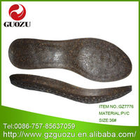 Shoes inner sole pvc materials for lady