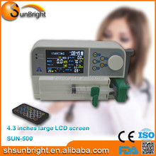 CE Qualified Medical single Channel three working mode Syring Pump/Syringe Pump