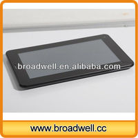 Different colors 7 inch Cheapest Dual Camera Android 4.0 industrial android tablet with 3G Bluetooth