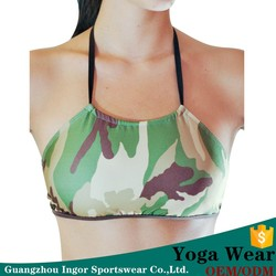 customized wholesale digital print sports bra