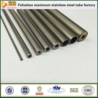 small diameter 304 stainless steel micro capillary tubes for medical