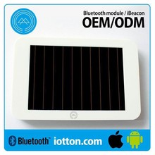 High Quality Long Lasting Multiple Certified da14580 beacon for IOS & Eddystone,Ble4.0 Solar iBeacon module manufacturer