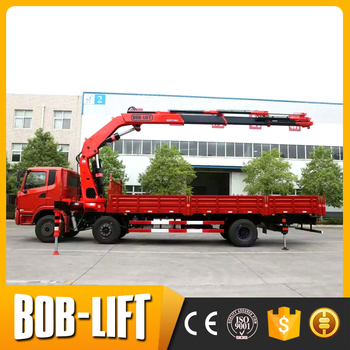 12 Ton Small Truck Mounted Crane