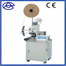 Reliable performance full automatic wire cutting stripping and ribbon cable crimping machine with twisting function