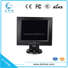 9.7 inch mini monitor with VGA/AV input HD SDI monitor