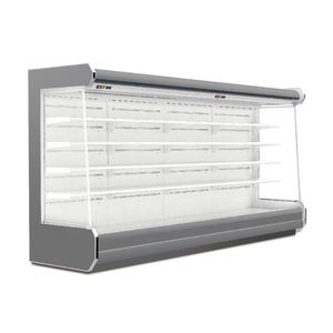 Remote refrigerated display cabinet chiller freezer refrigerator for supermarket
