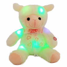 LED Night Glowing Sheep Plush Toy