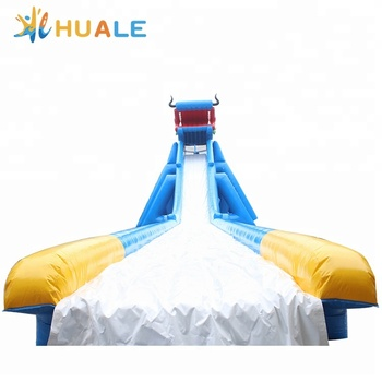 Huale high quality dragon inflatable water slide for adult