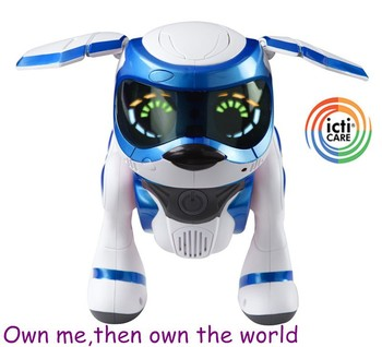 2015 ICTI factory dog toy,Hot sale remote control electric walking robot dog toys for sale,robotic dog toy from OEM manufacture