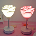 Romantic Rose shape USB rechargeable Led night lights