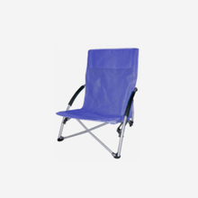Durable Classic Folding Chairs For Outdoors Low Back Camping Chairs Double Seat
