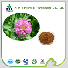 100% Pure natural red clover extract/isoflavones 8%/red clover extract 8%