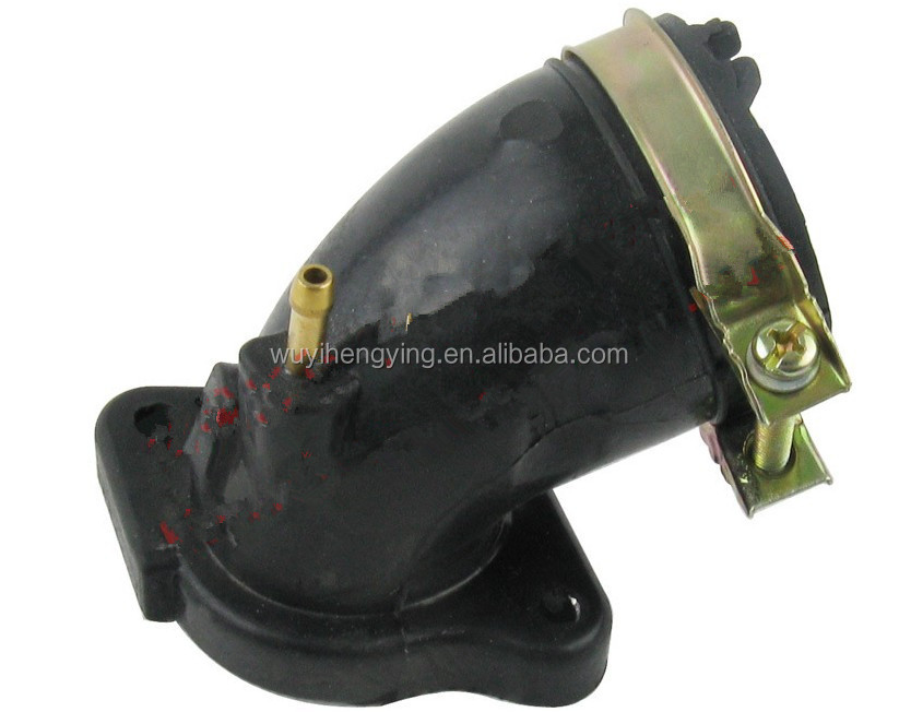 300CC ATV intake Manifold for Scooter Majesty YP250 Linhai VOG 260 Xingyue XY260T-4 169mm 170mm 173mm
