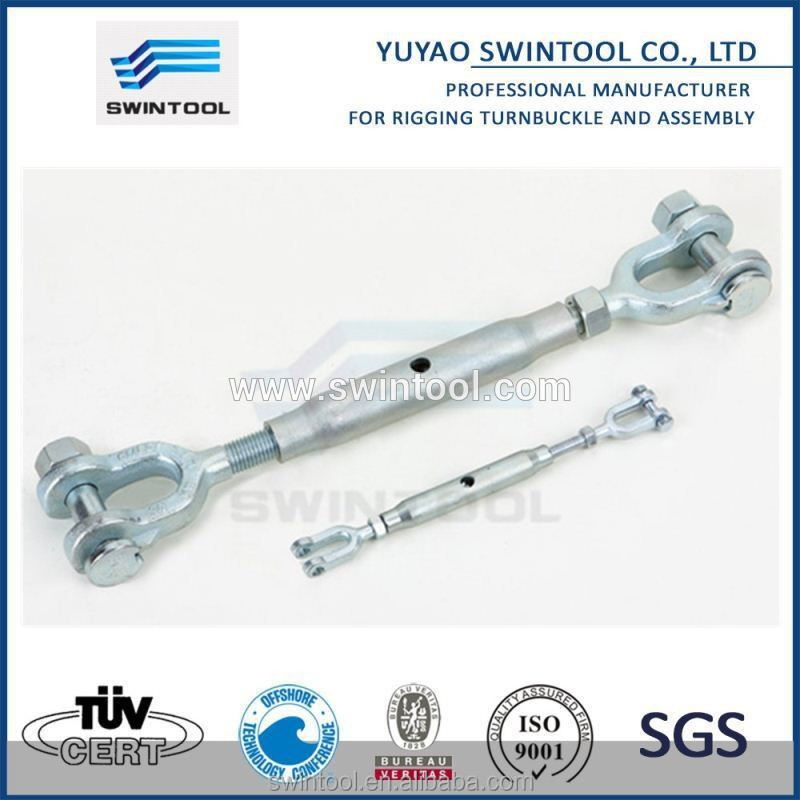 EU type closed body turnbuckle Jaw & Jaw Turnbuckles for rigging screw