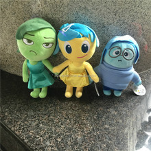 New Movie Inside out Pixar Children Stuffed Plush Toy Joy Anger Disgust Sadness Fear Plush Doll for kids gift