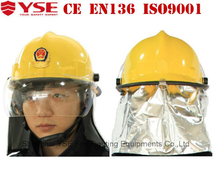 Shanghai YSE EN443 Europe used fire helmet
