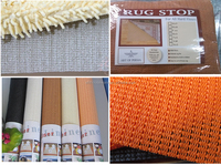 High Quality Non-Slip Area Rug Pads Fully Washable, Best Pad for Firm Hold on Oriental Rugs & Mats