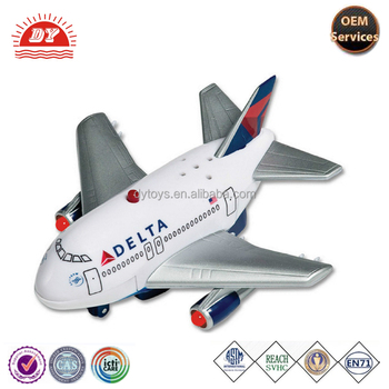ABS plastic toy airliners