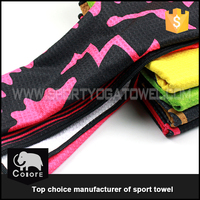 Eco friendly healthy skin care printable new fabric sport sex towel for club