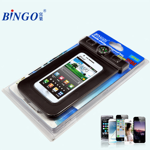 Bingo mobile accessories waterproof cell phone case with Armband Strap