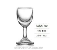 haonai well saled glass cup,pewter wine goblet