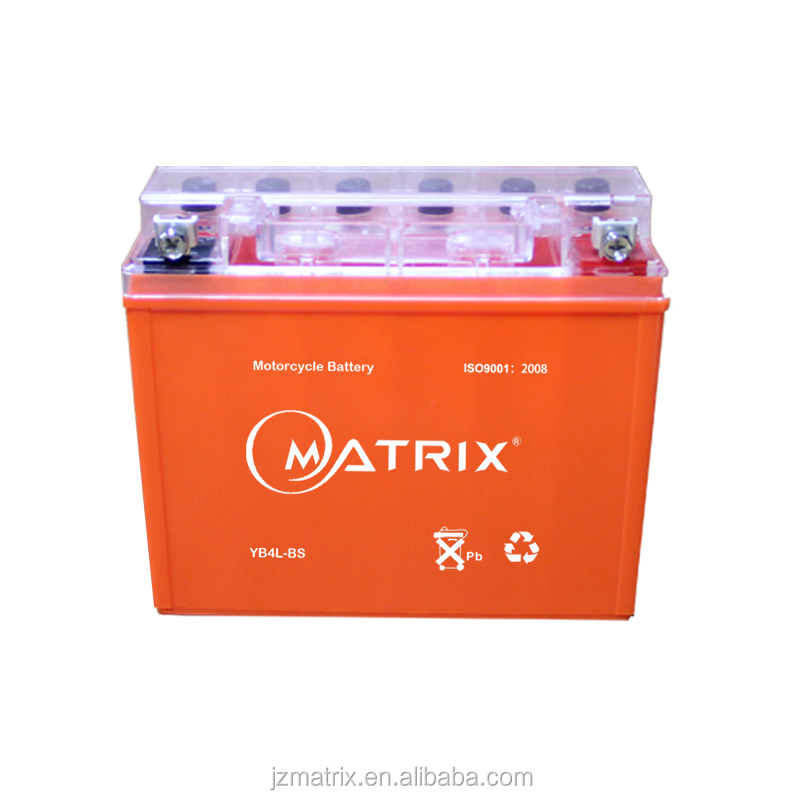 Matrix best selling agm vrla gel battery 12v 4ah 10hr motorcycle battery