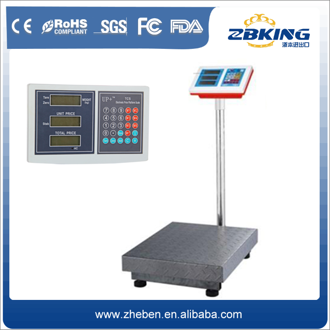Electronic weighing scale parts digital platform with computer interface