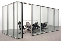 New design glass panels office partitions office glass wall partitions