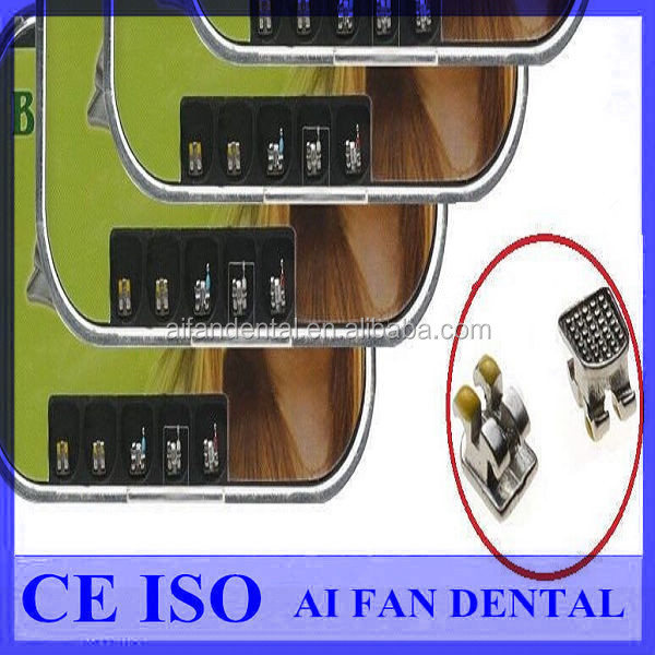 [ AiFan Dental ] Hot sale Monoblock Orthodontic afdent dental brackets