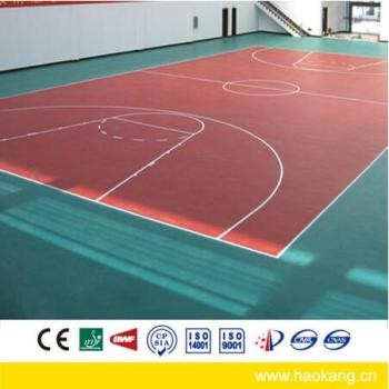 Indoor PVC Sports Flooring for Basketball Court / Gym Room