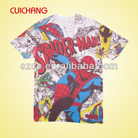 HOT superman printed t shirts for men
