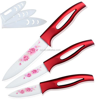 XYJ Ceramic Kitchen Knife Sets With Boxes