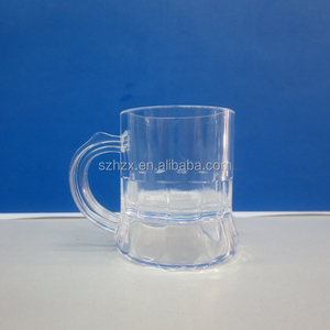 customized clear measuring plastic wine cup